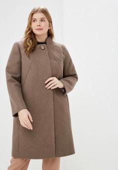 c392e31d223 Купить пальто женские Ovelli коричневые в Москве недорого. Интернет ...