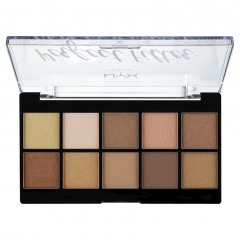 NYX Professional Makeup Палетка теней. PERFECT FILTER SHADOW PALETTE